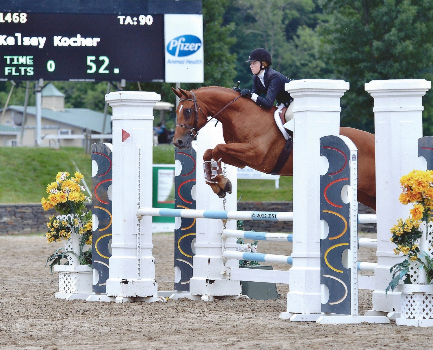 Lookout and Kelsey Kocher, Saugerties NY 2012
